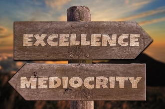 The habit leads to excellence