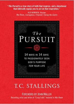 book review - the pursuit by TC Stallings on pursuing God's purpose