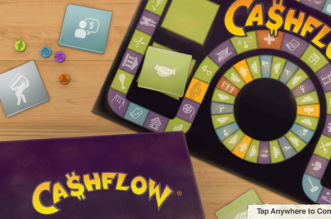 cash flow board game- rich dad poor dad
